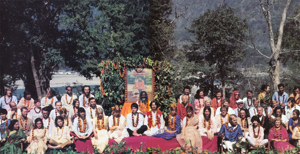 The Beatles in India - The anthology Photo