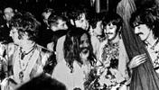 les Beatles et Maharishi Mahesh Yogi à Bangor en 1968