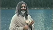 Maharishi at Lake Louise, Canada, 1968