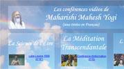 Les conférences sous-titrées en Français de Maharishi